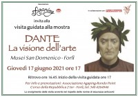 """Visita guidata alla mostra """"Dante. La visione dell'arte"""""""